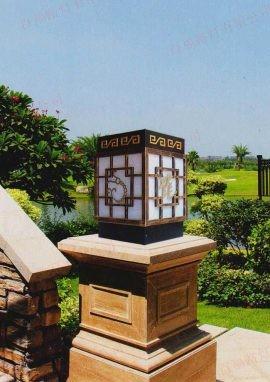 景观柱头灯