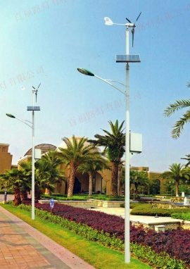 太阳能风能互补路灯