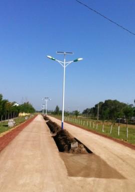 河北省张家口市太阳能路灯工程案例
