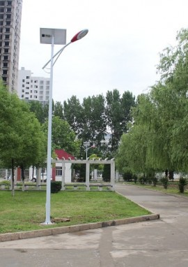 河南省邓州市太阳能路灯工程