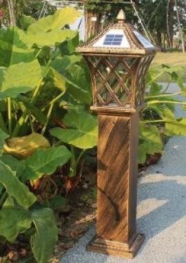 庭院灯生产造型该如何处理?