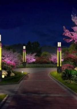 关于景观灯应用要求