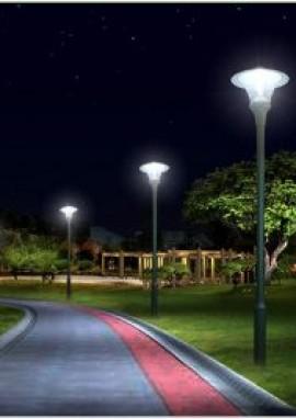 「百福路灯」告诉你庭院灯安装的三大注意事项