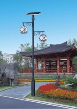 太阳能庭院灯的保护措施规范