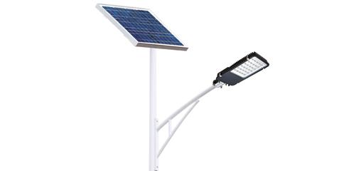 太阳能路灯上装